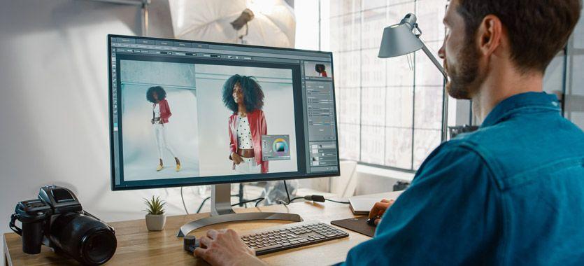 Tamaño y resolucion de imágenes en Photoshop