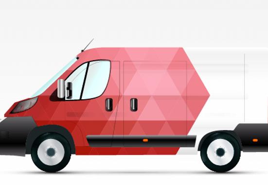 Clickprinting. Rotulación con vinilos adhesivos de fundición de alta calidad para furgonetas. Comprar con precios baratos online