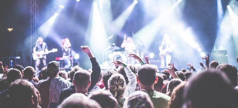 Lonas para escenarios, conciertos y festivales