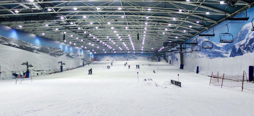 Confiaron en ClickPrinting: Madrid Snowzone