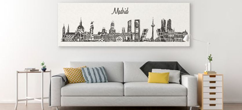 Impresiones en lienzo personalizadas para decoración