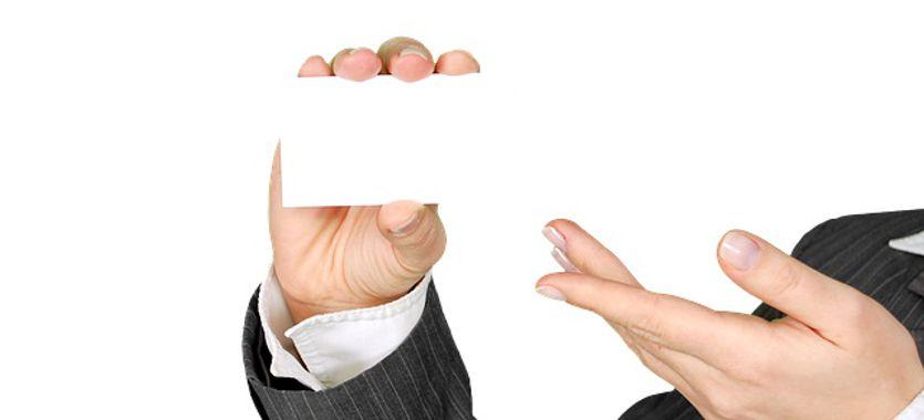 Cómo hacer una tarjeta de visita eficaz publicitariamente