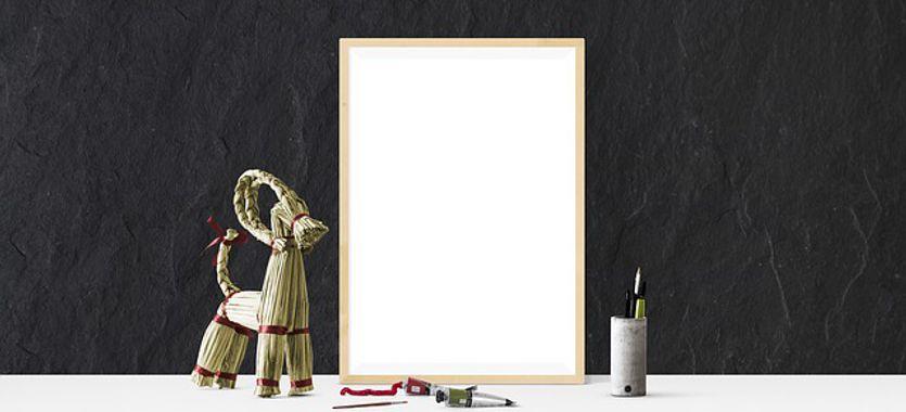 La impresión sobre cartón pluma para publicidad