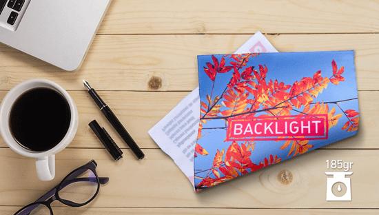 Clickprinting impresión sublimación sobre tela backlight 185 gr., precios baratos online