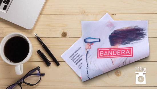 Clickprinting impresión sublimación sobre tela bandera flag viento, precios baratos online