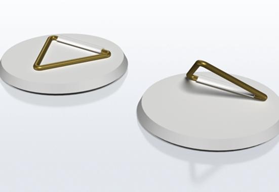 Clickprinting. Colgador adhesivo para sujetar carteles, soportes rígidos en Pegasus, Foam, Cartón pluma y Cartón microcanal. Comprar a precios baratos online