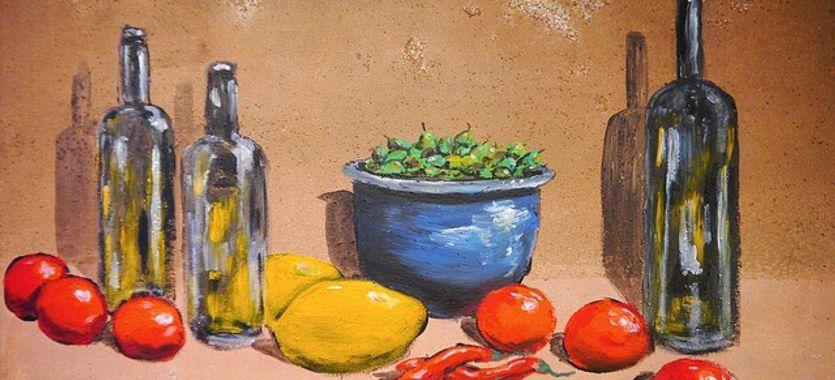 Concepto de pintura y tipos de cuadros de pintura