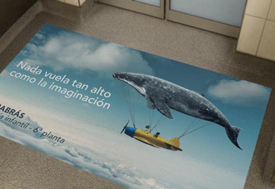Clickprinting impresión digital alfombras de Pvc para decoración. Alfombras vinílicas para suelos, precios baratos online