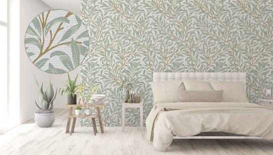 Vinilos decorativos con textura para paredes lisas. Adhesivo alta adherencia y reposicionable