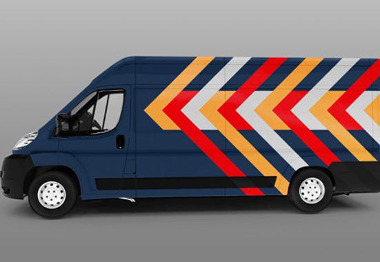 Clickprinting. Rotulación y señalización de vehículos con vinilos adhesivos de corte reflectantes Oracal. Comprar online precios baratos