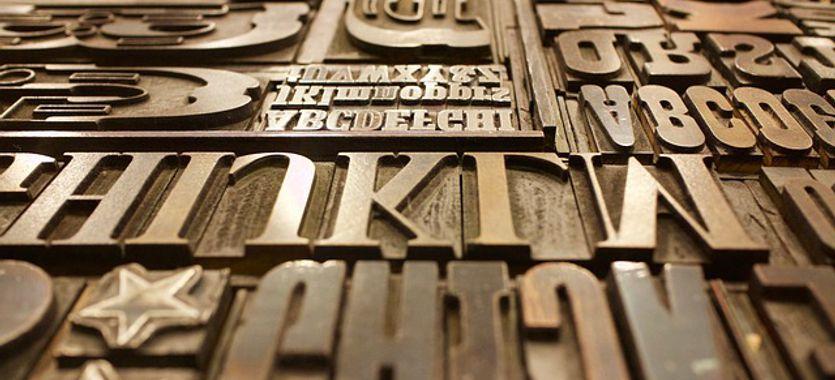 El concepto de tipografía y otras definiciones tipográficas