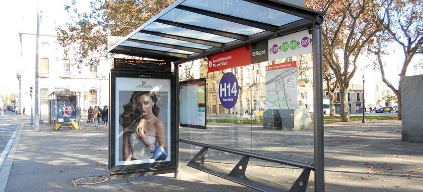 La lona de poliester para carteles publicitarios retroiluminados