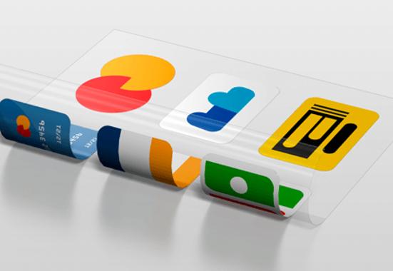 Clickprinting. Rotulación de cristales y escaparates con vinilos adhesivos impresos a doble cara. Comprar con precios baratos online