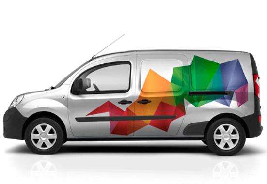 Clickprinting. Rotulación de vehículos con vinilos adhesivos de fundición de alta calidad. Comprar con precios baratos online