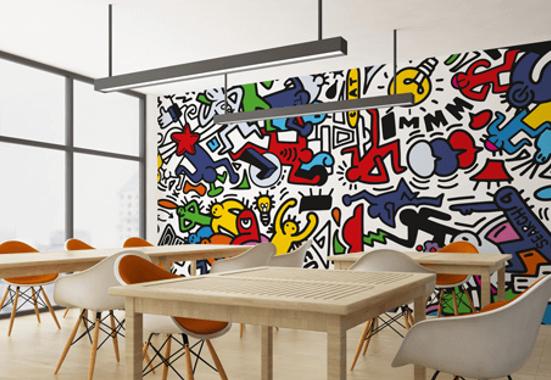 Clickprinting. Impresión digital de vinilos adhesivos para decorar paredes wall art Oracal. Precios baratos online