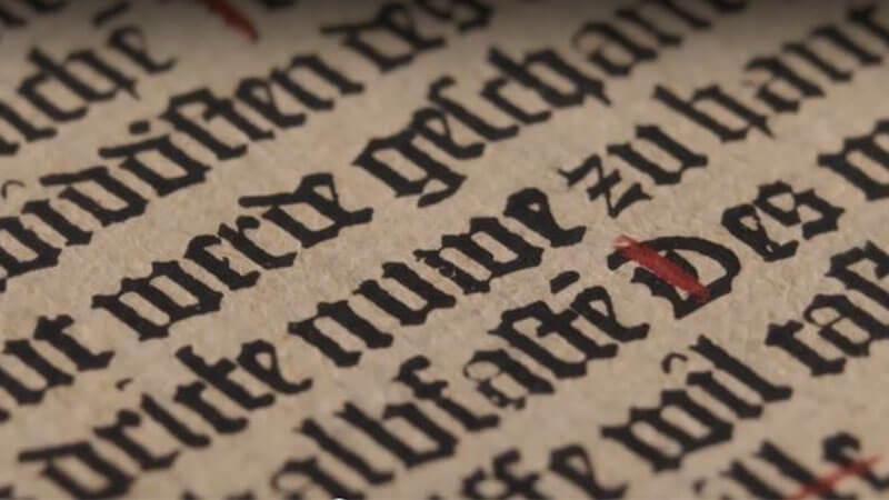 El enigma Gutenberg