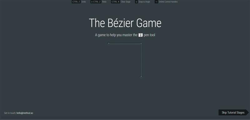El juego Bézier