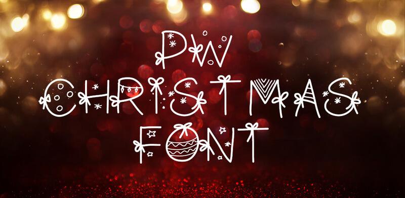 tipografías navidenas 08