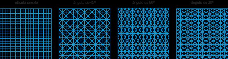 Retículas para símbolos y logotipos 01