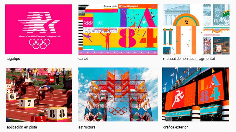 Elementos de diseño Los Ángeles 1984
