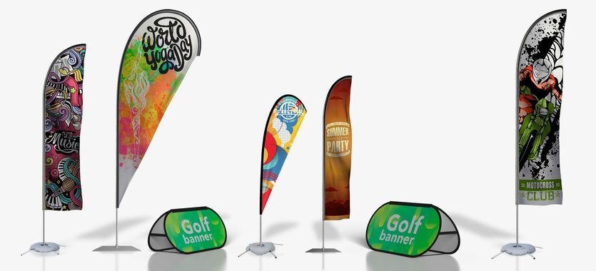 Flybanners - Golfbanner